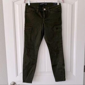 """🦉BOGO🦉 Express Olive Green """"Stella"""" Skinny Jeans"""